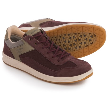 Lowa San Luis Gore-Tex® Surround Lo Shoes - Waterproof (For Women) in Bordeaux/Stone