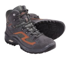 Lowa Scorpio Gore-Tex® Mid Hiking Boots - Waterproof (For Men) in Anthracite/Brick - Closeouts