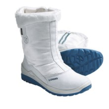 Lowa Selina Gore-Tex® Hi Hiking Boots - Waterproof, Insulated (For Girls) in White - Closeouts