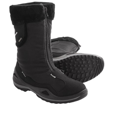 Lowa Solden Gore-Tex® Winter Boots - Waterproof, Insulated (For Women) in Black Print