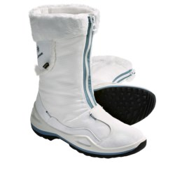 Lowa Solden Gore-Tex® Winter Boots - Waterproof, Insulated (For Women) in Black/Grey