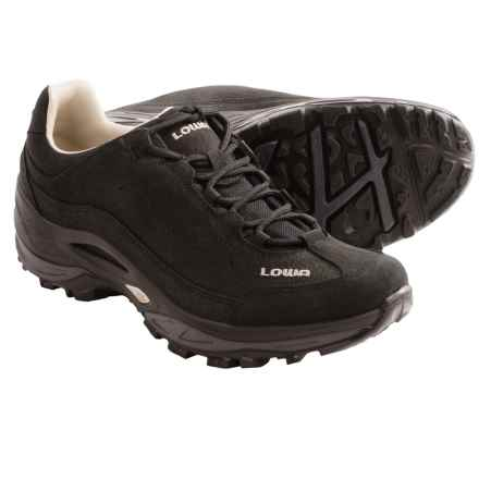 Lowa Strato III Lo Trail Shoes (For Women) in Black - Closeouts