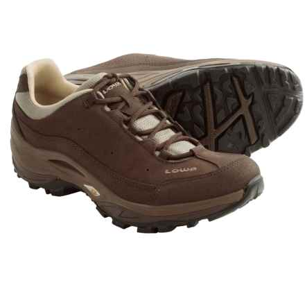 Lowa Strato III Lo Trail Shoes (For Women) in Brown - Closeouts