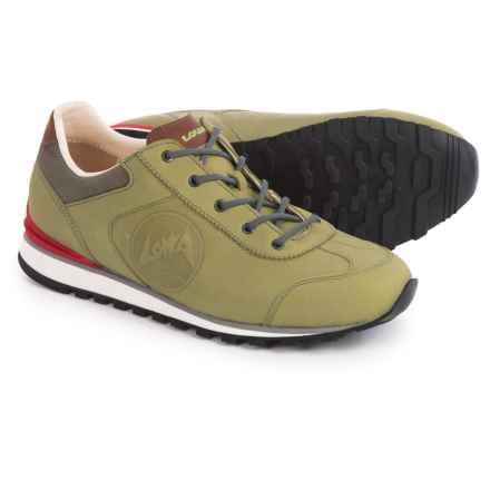 Lowa Tegernsee Shoes - Nubuck (For Women) in Kiwi - Closeouts