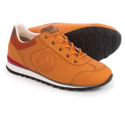Lowa Tegernsee Shoes - Nubuck (For Women) in Mango - Closeouts