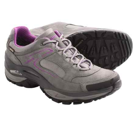 Lowa Tempest Gore-Tex® LO Trail Shoes - Waterproof (For Women) in Gray/Berry - Closeouts