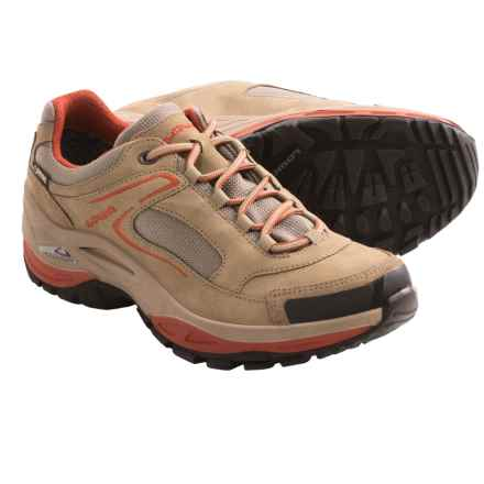 Lowa Tempest Gore-Tex® LO Trail Shoes - Waterproof (For Women) in Taupe/Terracott - Closeouts