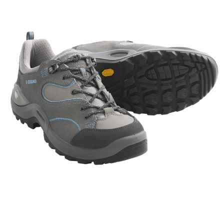 Lowa Tempest LO Trail Shoes (For Women) in Dark Grey/Light Grey - Closeouts