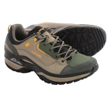 Lowa Tempest Lo Trail Shoes - Suede (For Men) in Taupe/Green - Closeouts