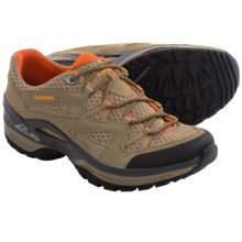 Lowa Tempest Mesh Trail Shoes (For Men) in Beige/Orange - Closeouts