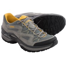 Lowa Tempest Mesh Trail Shoes (For Men) in Grey/Curry - Closeouts