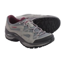 Lowa Tempest Mesh Trail Shoes (For Women) in Grey/Magenta - Closeouts