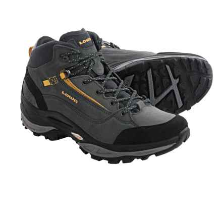 Lowa Tempest QC Hiking Boots (For Women) in Graphite/Curry - Closeouts
