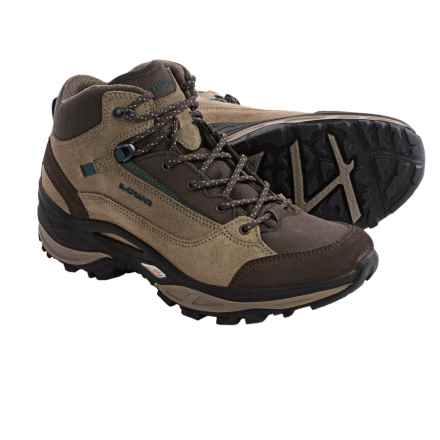 Lowa Tempest QC Hiking Boots (For Women) in Taupe/Bottle Green - Closeouts