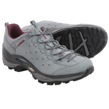 Lowa Tempest Vent Trail Shoes - Suede (For Women) in Grey/Berry - Closeouts