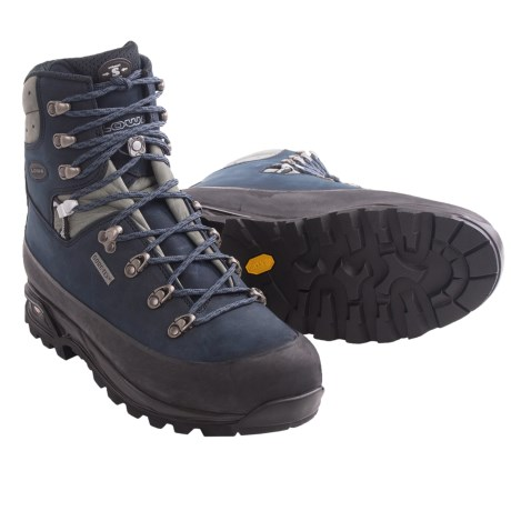 Lowa Tibet Pro Gore-Tex® Backpacking Boots - Waterproof (For Men) in Black/Graphite