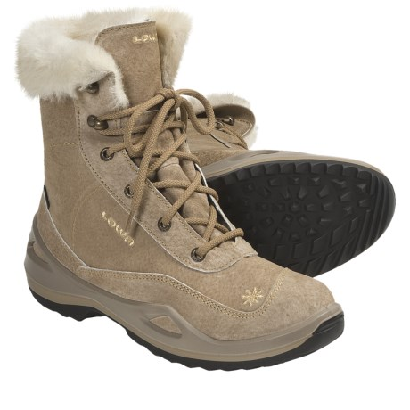 Lowa Tirolina Gore-Tex® Winter Boots - Waterproof, Insulated (For Women) in Brown