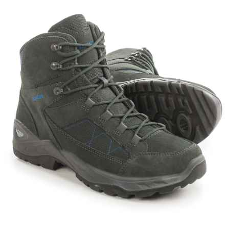 Lowa Toledo Gore-Tex® Hiking Boots - Waterproof (For Men) in Anthracite/Petrol - Closeouts
