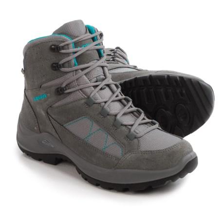 Lowa Toledo Gore-Tex® Hiking Boots - Waterproof (For Women) in Grey/Turquoise