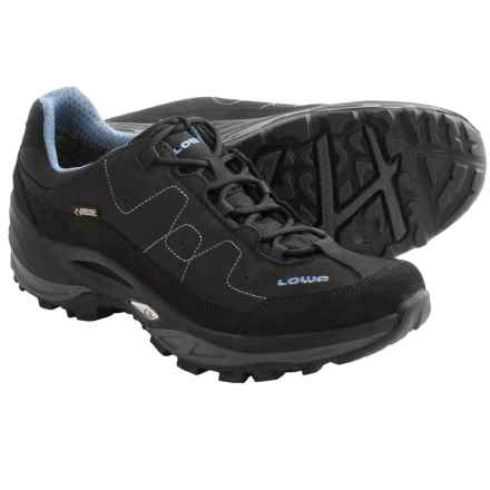 Lowa Toro Gore-Tex® XCR® Lo Trail Shoes - Waterproof (For Women) in Black/Denim - Closeouts