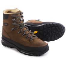 Lowa Trekker WXL Hiking Boots - Nubuck (For Men) in Dark Brown - Closeouts