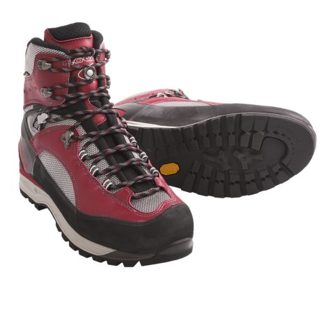 Lowa Vajolet Gore-Tex® Mountaineering Boots - Waterproof, Insulated (For Men) in Red/Black