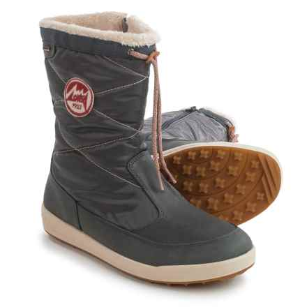 Lowa Valloire Gore-Tex® Mid Winter Boots - Waterproof, Insulated (For Women) in Anthracite - Closeouts