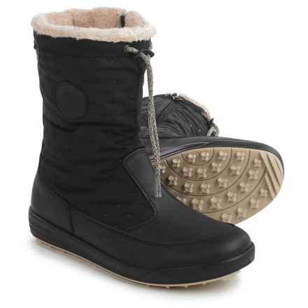 Lowa Valloire Gore-Tex® Mid Winter Boots - Waterproof, Insulated (For Women) in Black - Closeouts