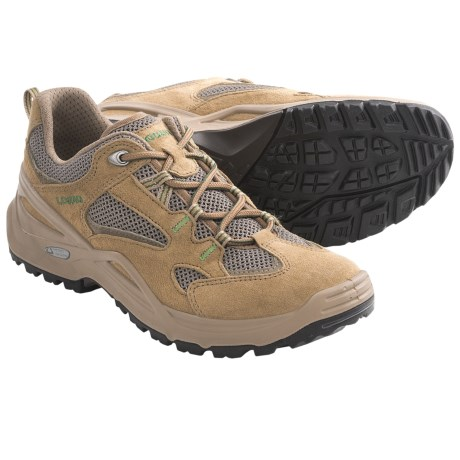 Lowa Vento Lo Trail Shoes (For Women) in Beige