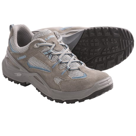 Lowa Vento Lo Trail Shoes (For Women) in Grey