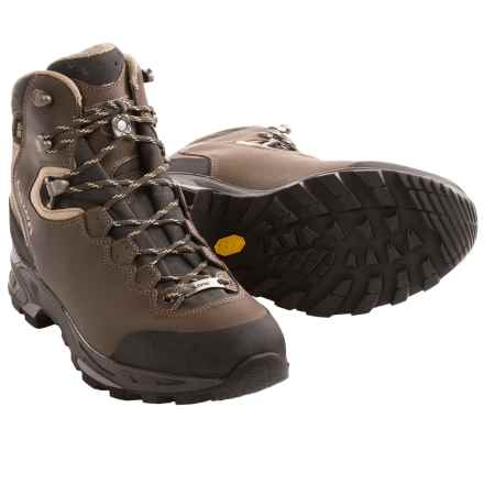 Lowa Vivione II Gore-Tex® Hiking Boots - Waterproof (For Women) in Dark Brown/Beige - Closeouts