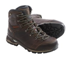 Lowa Yukon Ice Mid Gore-Tex® Snow Boots - Waterproof, Insulated (For Men) in Dark Brown - Closeouts