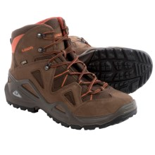 Lowa Zephyr Gore-Tex® Mid Hiking Boots - Waterproof, Leather (For Men) in Brown/Rust - Closeouts