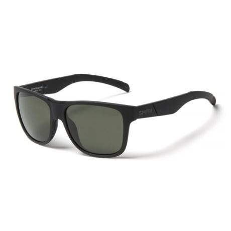 3d05519ff9 ... Lowdown XL Sunglasses - ChromaPop(R) Lenses (For UPC 715757478797  product image for Smith Optics Lowdown Xl Sunglasses Matte Black polarized Gray  Green ...