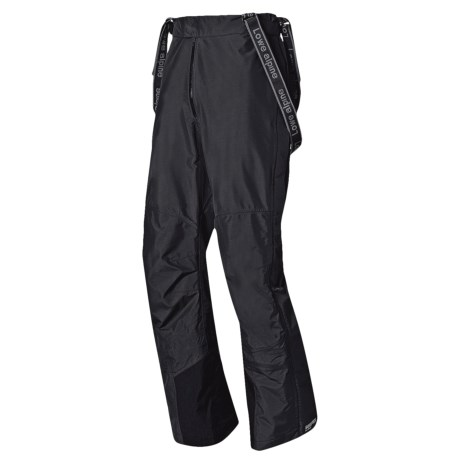 Lowe Alpine Aiguille Gore-Tex® Pants - Waterproof (For Men and Women) in Black/Black