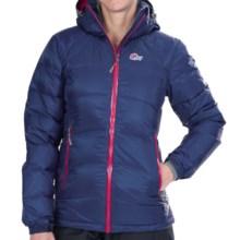 Lowe Alpine Alpenglow Down Jacket - 650 Fill Power (For Women) in Blueprint/Raspberry - Closeouts