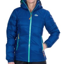 Lowe Alpine Alpenglow Down Jacket - 650 Fill Power (For Women) in Nordic Blue/Persian - Closeouts