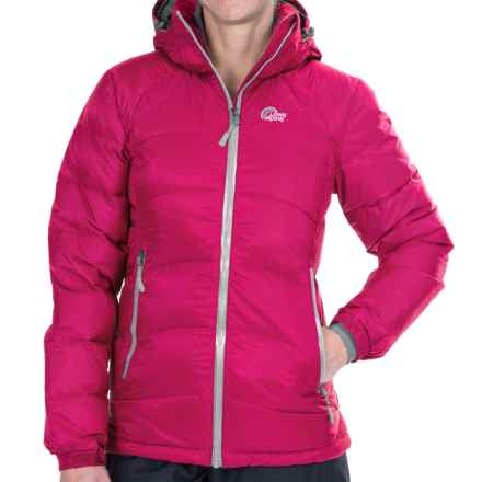 Lowe Alpine Alpenglow Down Jacket - 650 Fill Power (For Women) in Raspberry/Raspberry - Closeouts