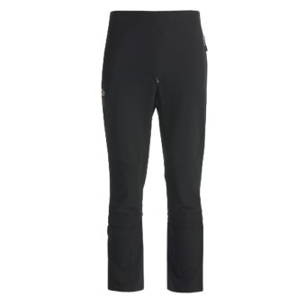 Lowe Alpine Alpine Ascent Lite Pants - Soft Shell (For Men) in Black/Black/Black