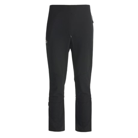 Lowe Alpine Alpine Ascent Lite Soft Shell Pants (For Men) in Black/Black/Black