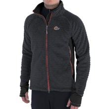 Lowe Alpine Araya Fleece Jacket (For Men) in Anthracite/Black - Closeouts