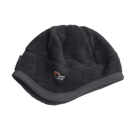 Lowe Alpine Attu Polartec® Beanie Hat (For Men and Women) in Dark Grey
