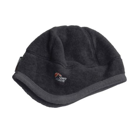 Lowe Alpine Attu Polartec® Beanie Hat (For Men and Women) in Dark Grey