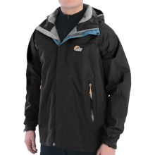 Lowe Alpine Cedar Ridge II Jacket - Waterproof (For Men) in Black - Closeouts