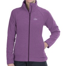 Lowe Alpine Distant Haze Fleece Jacket (For Women) in Grapejuice - Closeouts