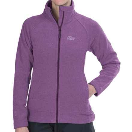 Lowe Alpine Distant Haze Fleece Jacket (For Women) in Grapejuice - Closeouts