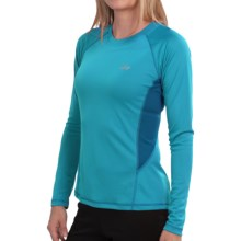 Lowe Alpine DRYflo® 150 Base Layer Top - Long Sleeve (For Women) in Blue Jay/Teal - Closeouts