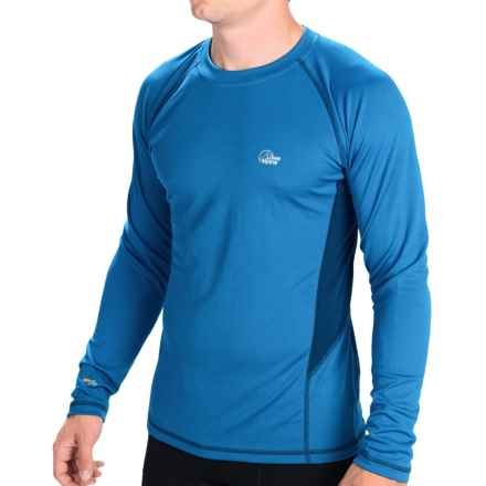 Lowe Alpine DRYflo® 150 Base Layer Top - Midweight, Long Sleeve (For Men) in Mallard/Ink - Closeouts