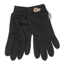 Lowe Alpine DRYflo® Base Layer Gloves (For Men) in Black - Closeouts