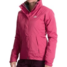 Lowe Alpine Far Horizon Jacket - Waterproof, 3-in-1 (For Women) in Rosehip/Dark Slate/Mirage - Closeouts